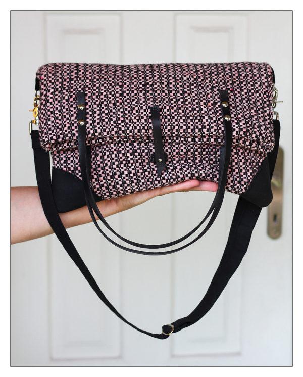 kukudesign kabelka vlněná